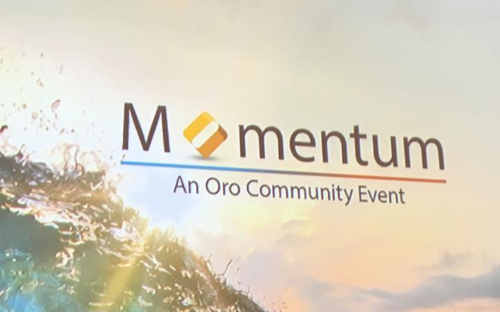 Logo van Oro Momentum