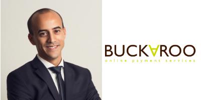 Portretfoto van Gijs Vodegel en Buckaroo logo
