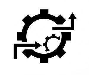 Workflow icoon van orocommerce
