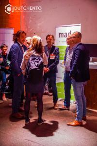 Madia spreekt met verschillende mensen over Magento op Meet Magento 2017