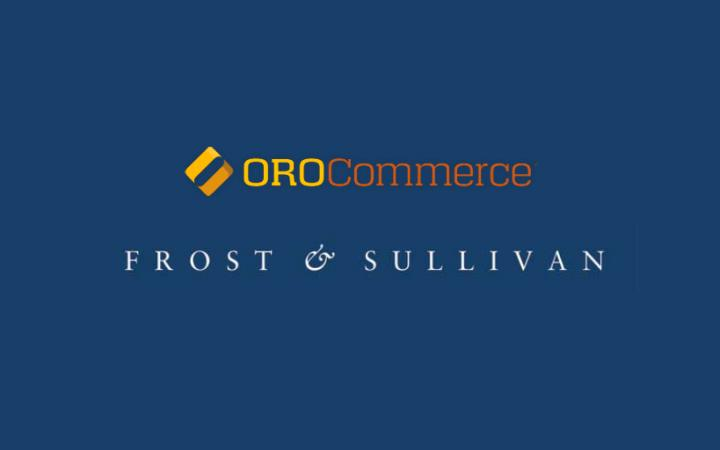 Logo's OroCommerce en Frost & Sullivan