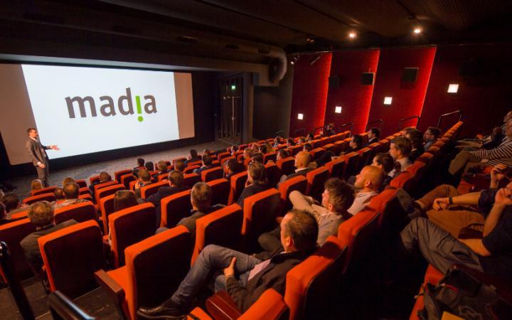 Madia Seminar in Bioscoopzaal