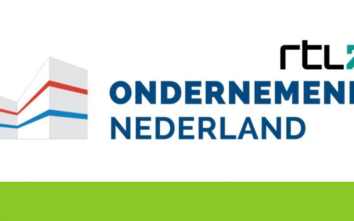 Logo van Ondernemend Nederland van RTL
