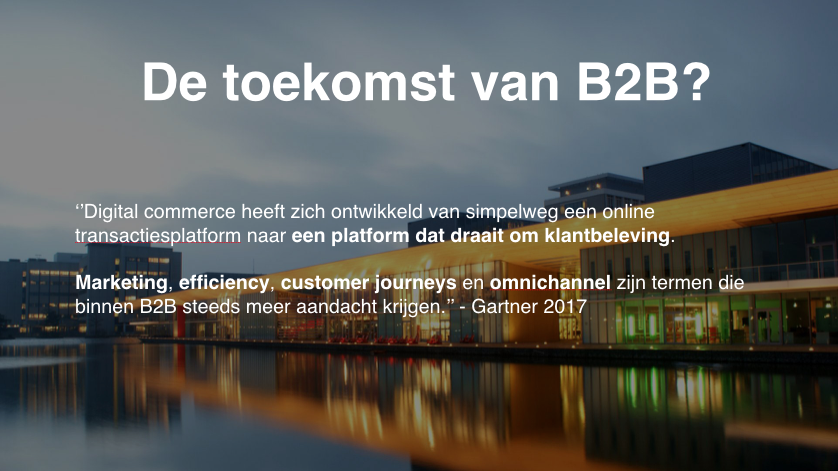 B2B.Commerce introductieslide