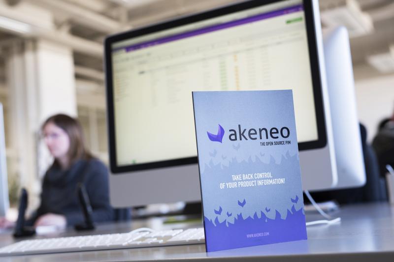 Aan het werk met Akeneo