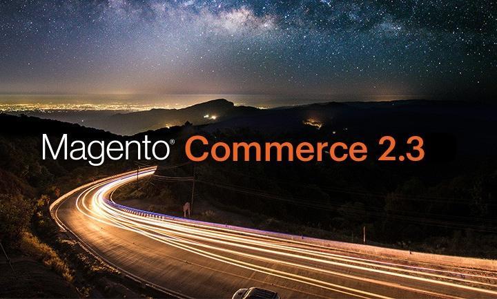 Magento logo met 2.3 release