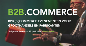 B2B.Commerce 13 juni logo