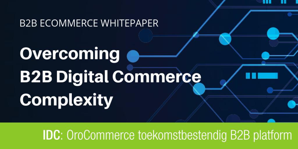 Titel: Overcoming B2B digital Commerce Complexity by IDC