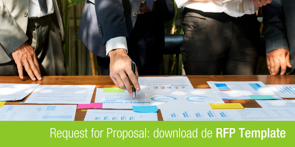 titel van het blog artikel request for proposal, download de RFP template
