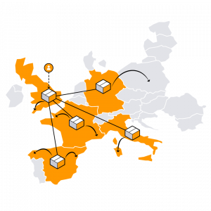 amazon in Europa