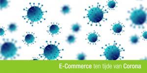 corona virus met de titel van het artikel