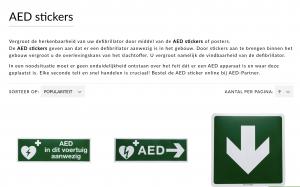 PDP copywriting AED partner