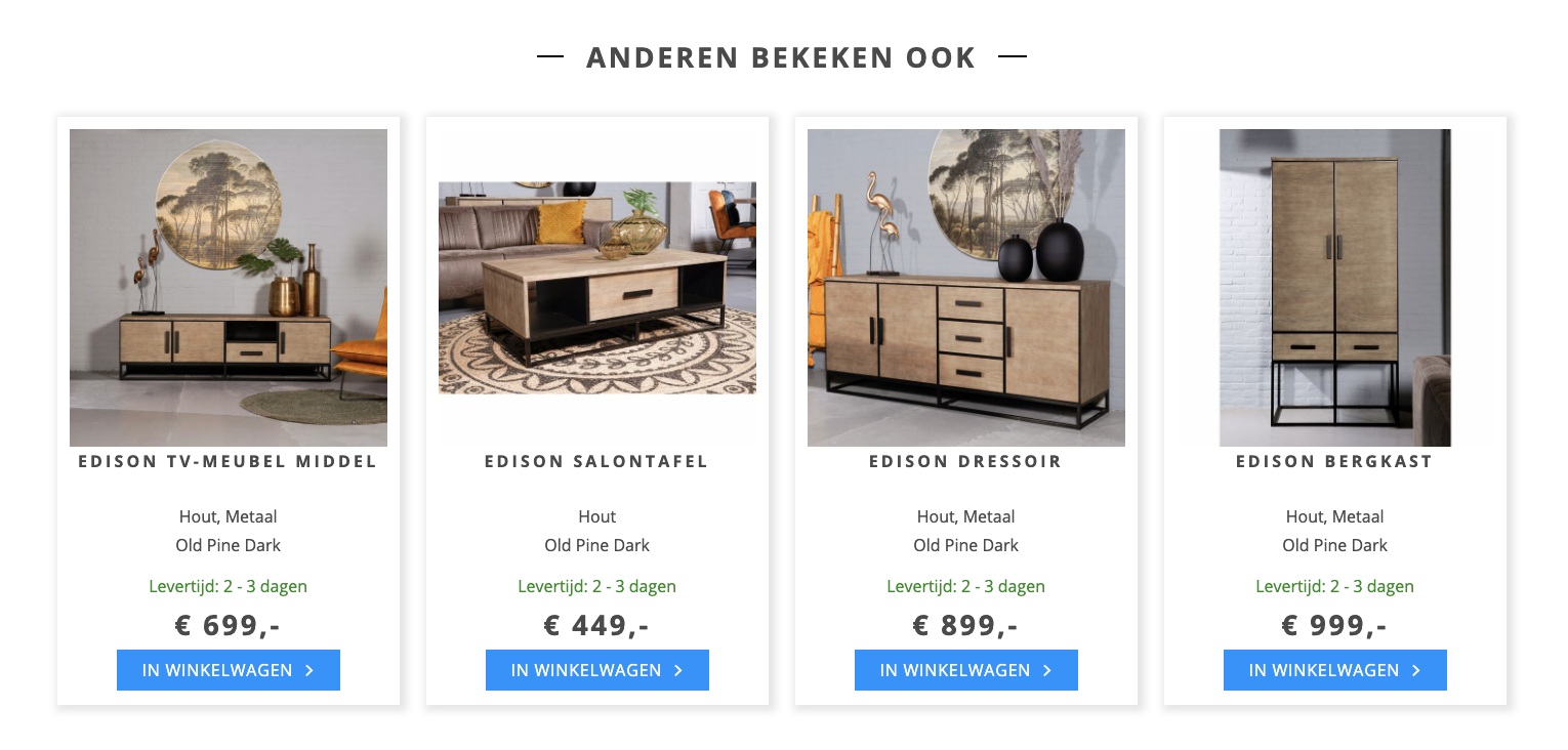Cross sell bij Haco om de average order value te verhogen