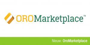 Banner met OroMarketplace logo