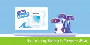Akeneo banner voor forrester wave rapport